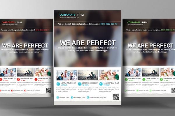 popular flyer templates