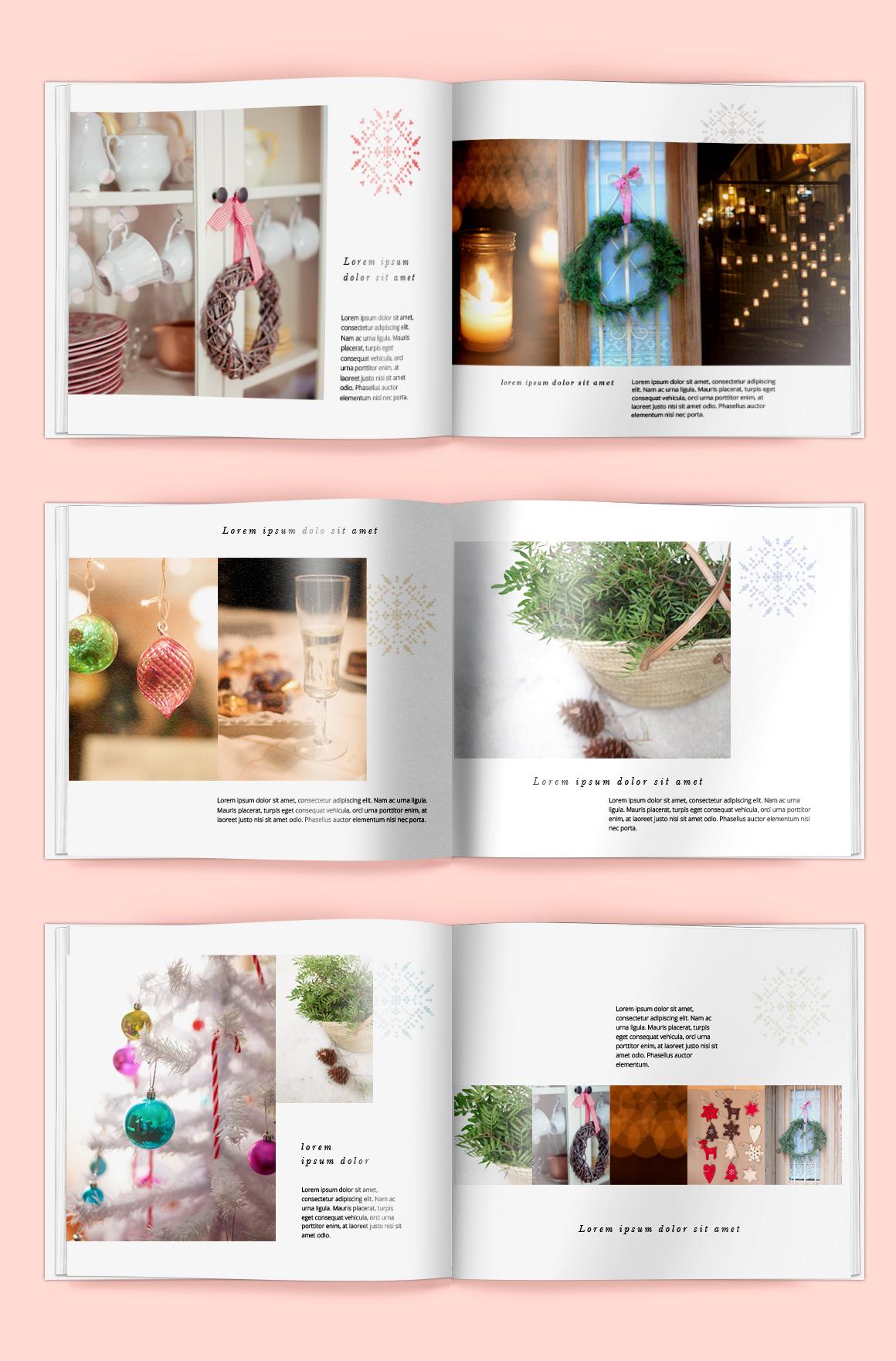 Blurb photobook christmas edition templates on creative for Blurb indesign template