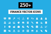 250+ Finance Vector Icons-Graphicriver中文最全的素材分享平台