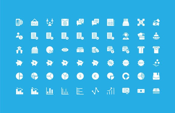 250+ Finance Vector Icons - Icons - 4