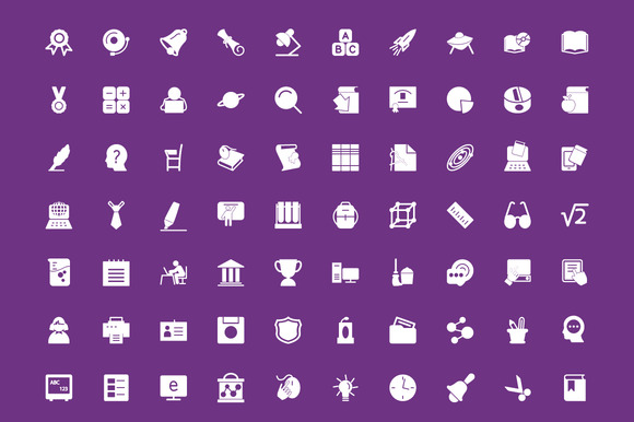 200 Education Vector Icons - Icons - 2
