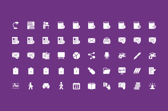 200 Education Vector Icons - Icons - 4