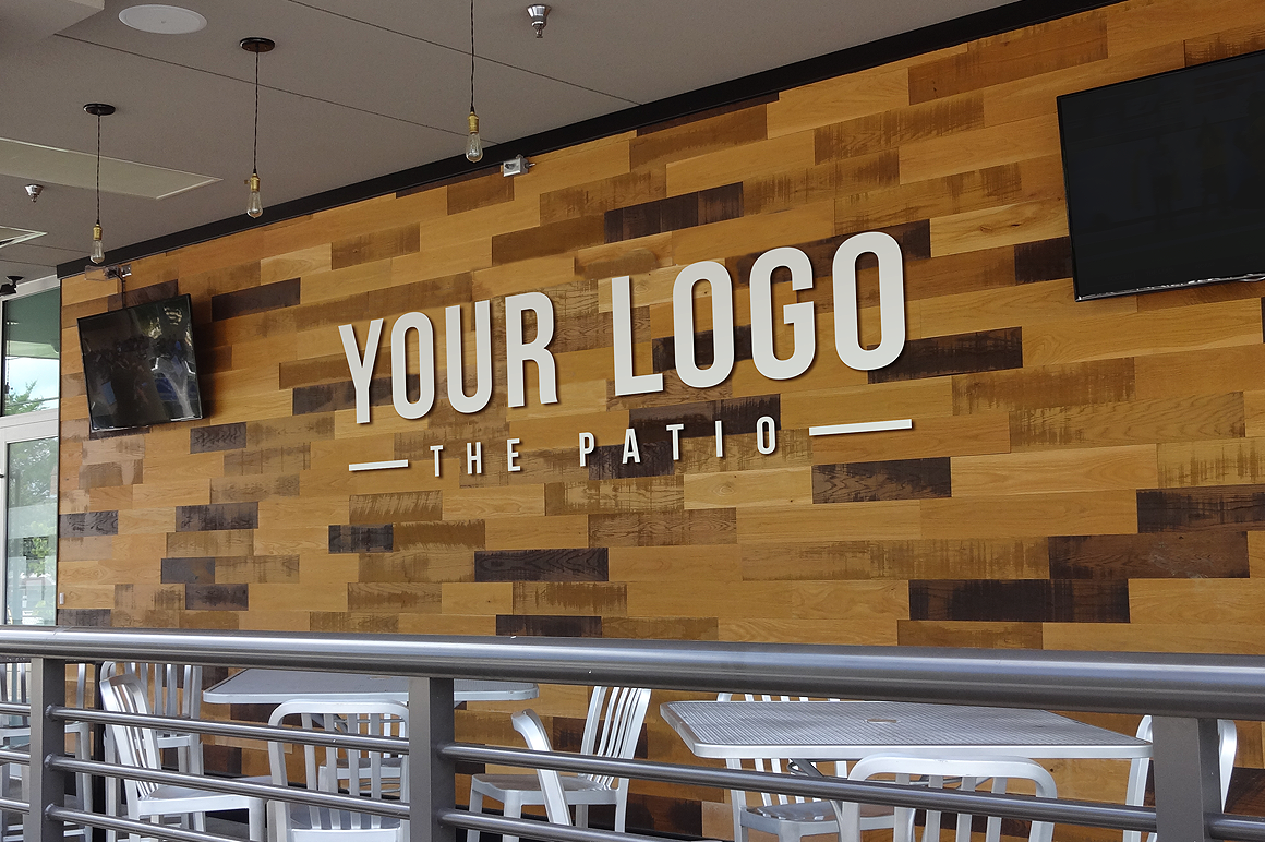 Store Restaurant Logo Mockups Product Mockups On