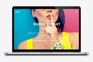 Lust - Journal Wordpress Theme