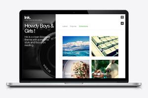 Ink - Blog Wordpress Theme