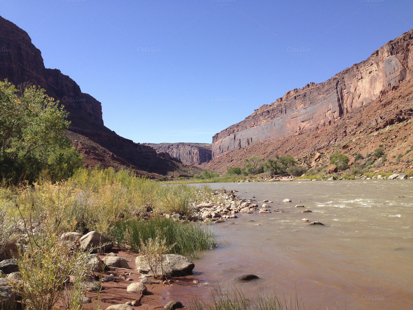 Colorado River Near Moab Utah Nature Photos On Creative