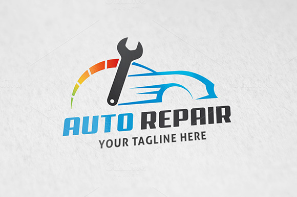 Auto Repair ~ Logo Templates on Creative Market