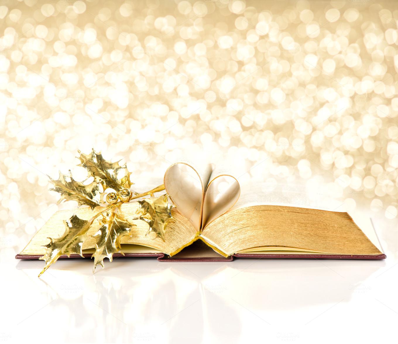 wallpaper golden book open -#main