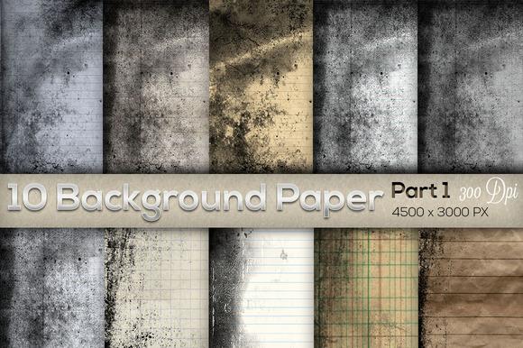 10 Background Paper Part 1 - Textures - 1
