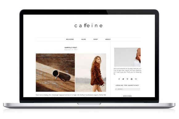 Woocommerce WP Theme – Caffeine