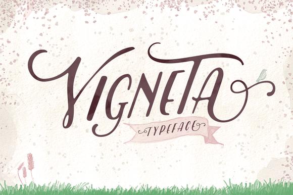 Vigneta Typeface Font Download
