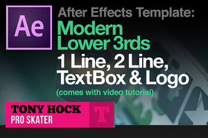 Lower 3rds - After Effects