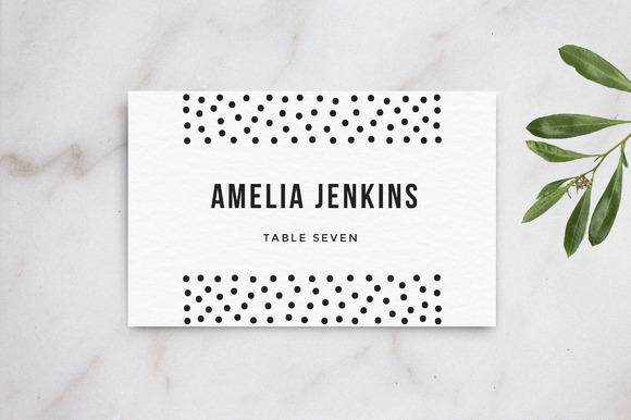 wedding table name card template card templates on creative market