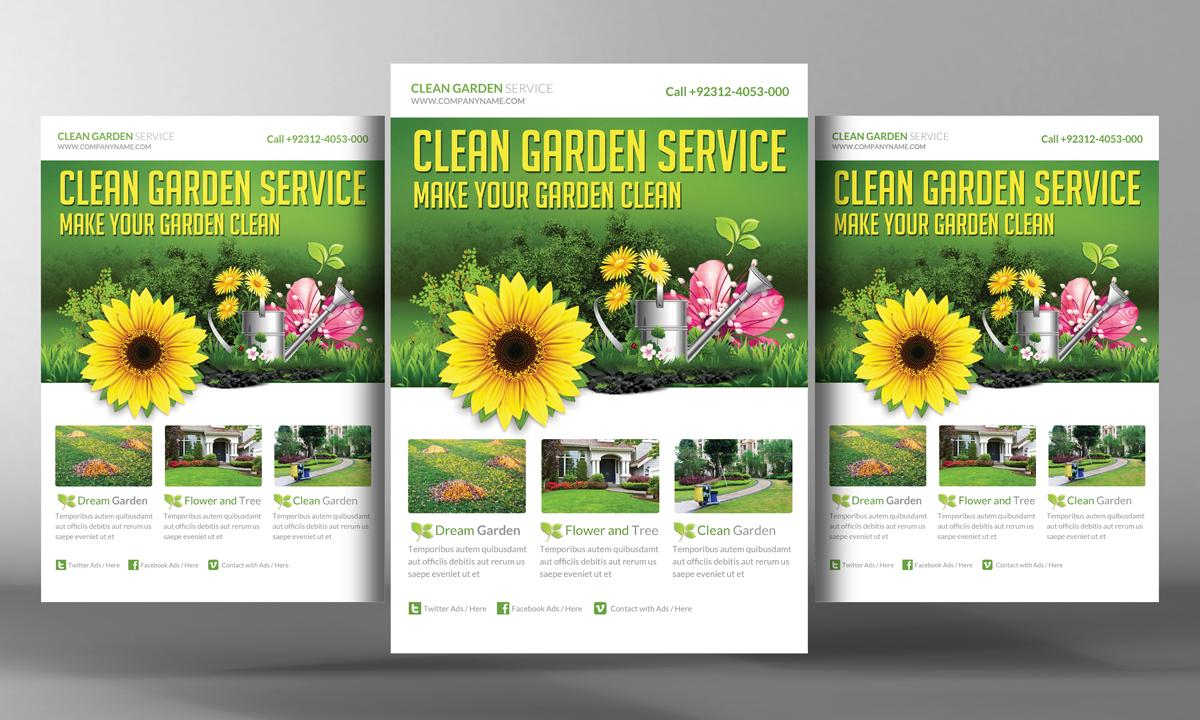 Garden Services Flyer Template Flyer Templates on