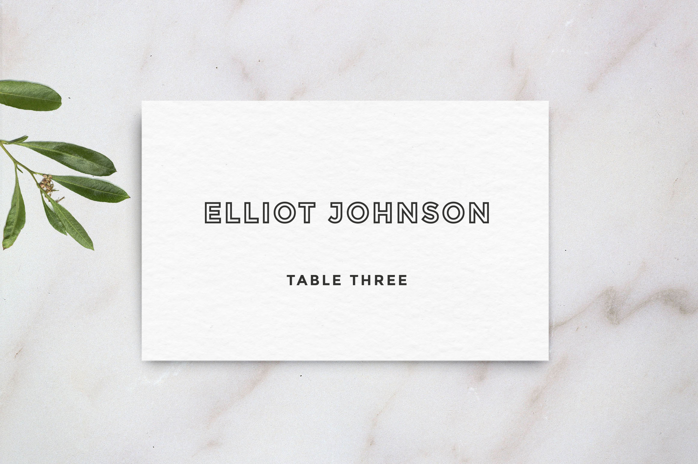 Wedding table place card template card templates on for Table place cards