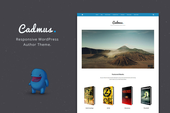 Cadmus – WordPress Theme for Authors
