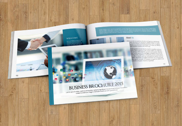 Brochure Template-12pages