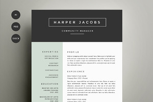 creative resume templates free download - Free Creative Resume Templates Word