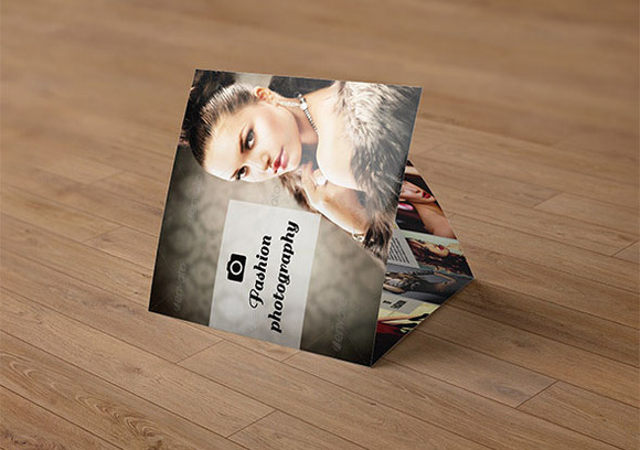 Tri-fold photography brochure