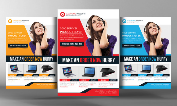product flyer templates – Free Product Flyer Templates
