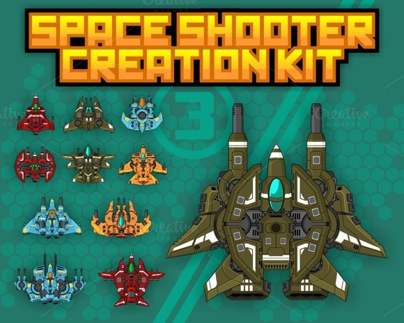 Space Shooter Ship Space Shooter Creation Kit 3