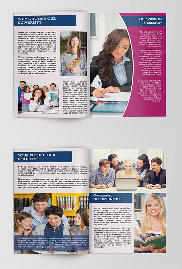 college brochure design pdf - brochure template sistec