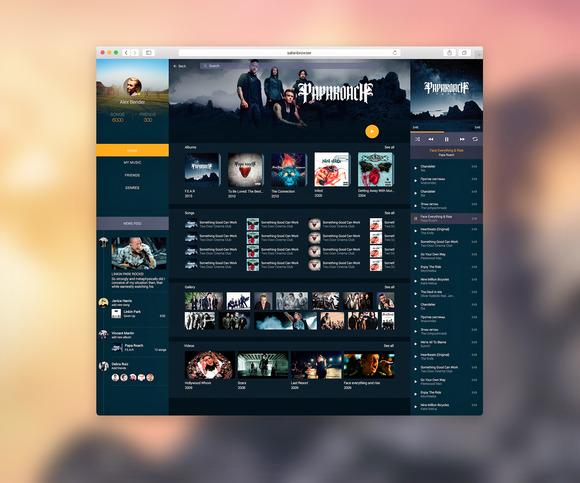 Music Web - Websites - 1