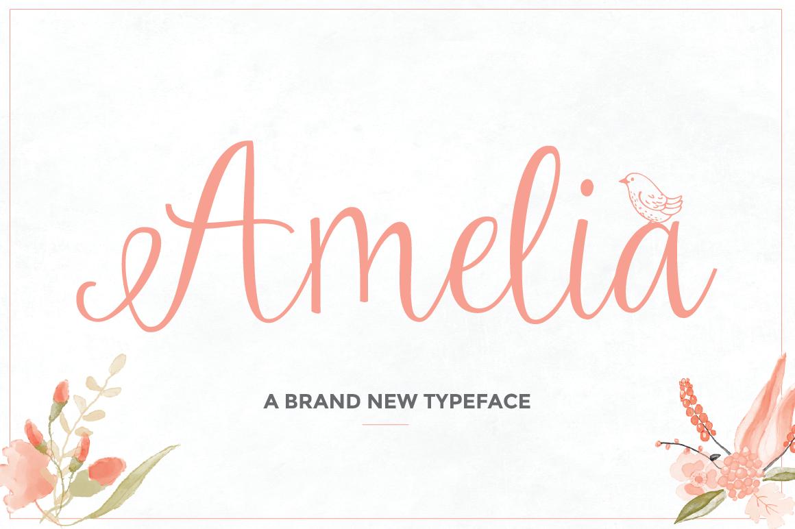 Amelia Font Download