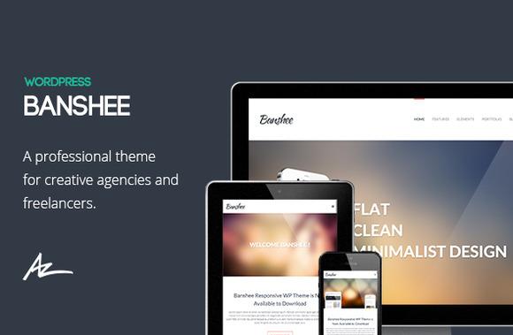 Banshee: Portfolio WordPress Theme ~ WordPress Themes  Free Download