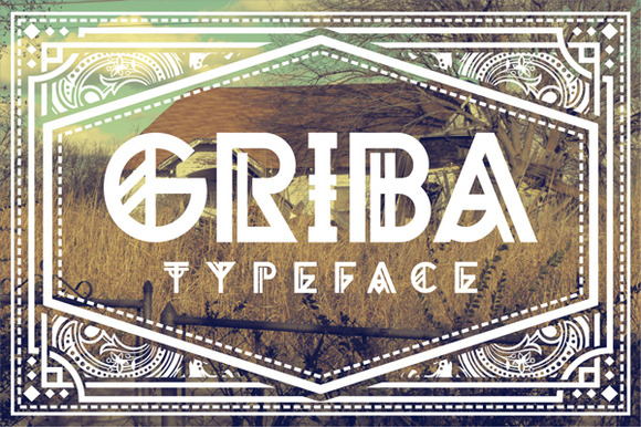 GRIBA Typeface
