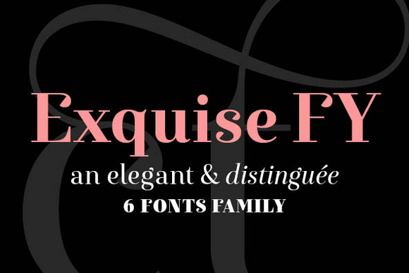 EXQUISE FY Black