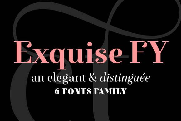 EXQUISE FY Bold Italic