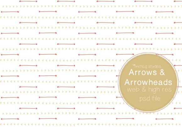 Arrow Arrowheads PSDs
