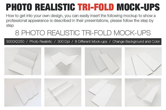 Photo Realistic Tri-Fold BROCHURE