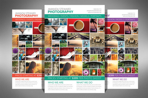 Photo Collage Flyer Template - Flyers - 1