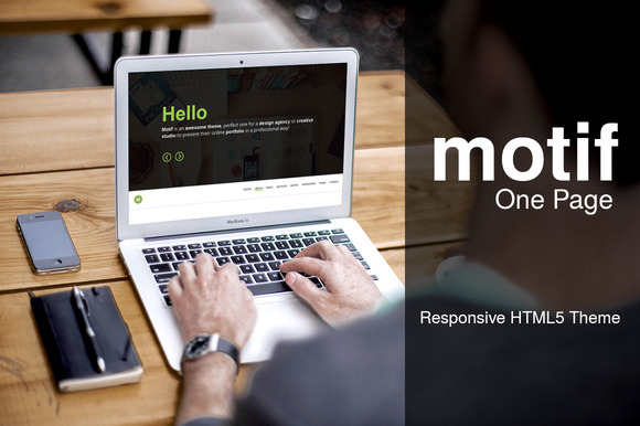 MOTIF Responsive Creative Portfolio ~ Website Templates  Free Download