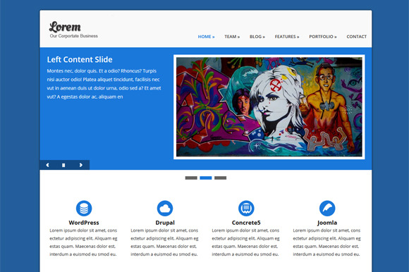 Lorem ~ WordPress Themes  Free Download