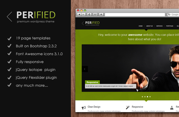 Perified ~ Bootstrap Themes  Free Download