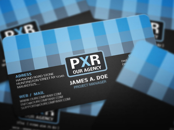 PXC Corporate Business Card