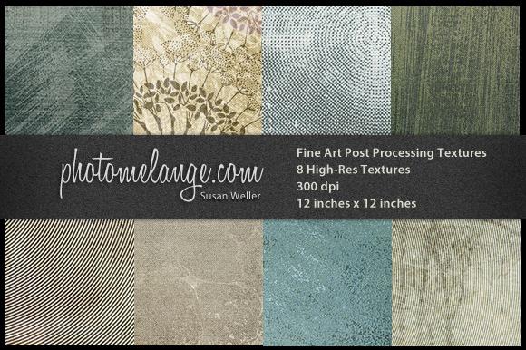 Photomelange 8 Squares Textures