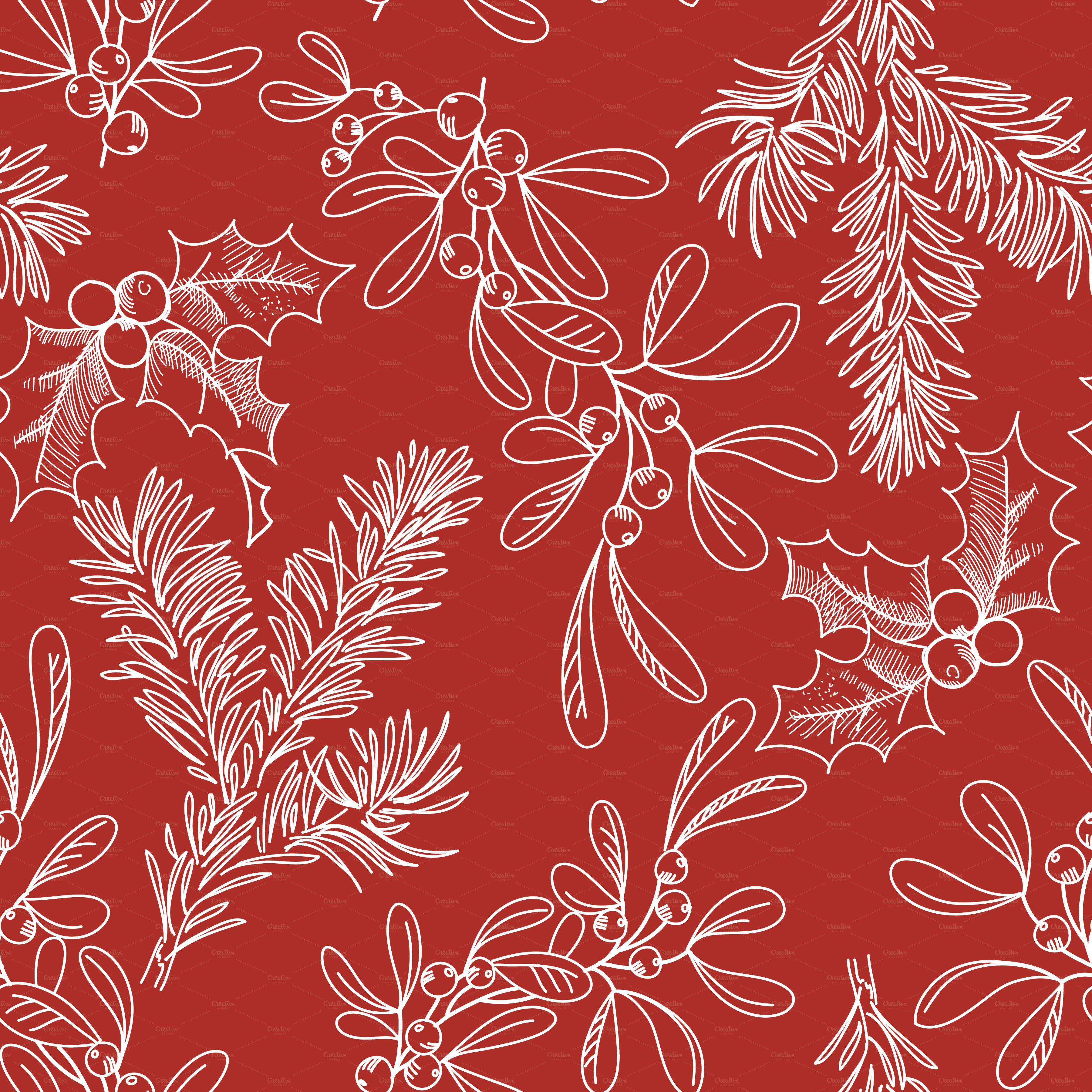 Red Christmas Scrapbook Paper Www Imgkid Com The Image
