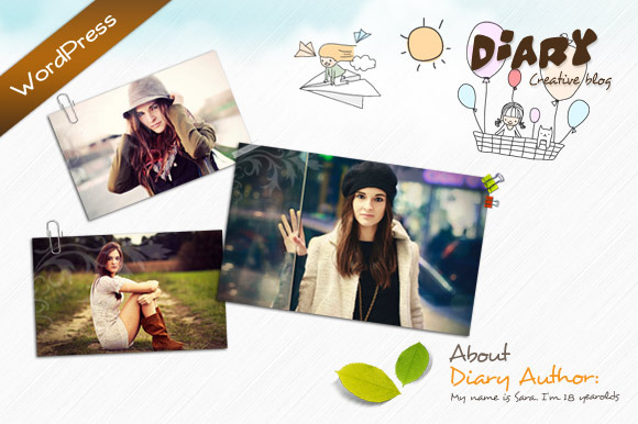 Diary – WordPress Theme ~ WordPress Themes  Free Download