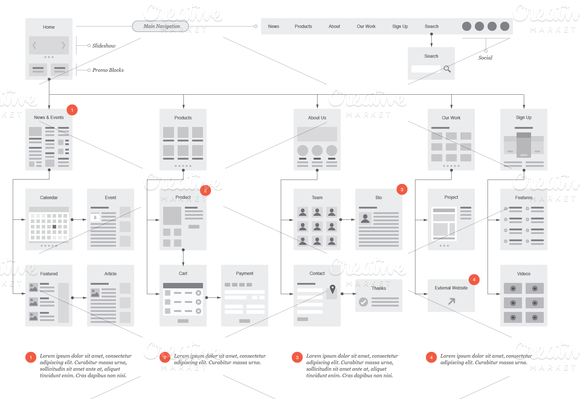 Website Map Template. site map template 21 free excel pdf ...