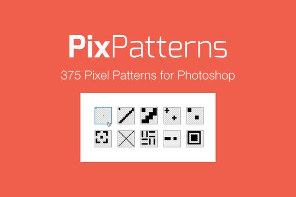 Pix Patterns 375 Pixel Patterns