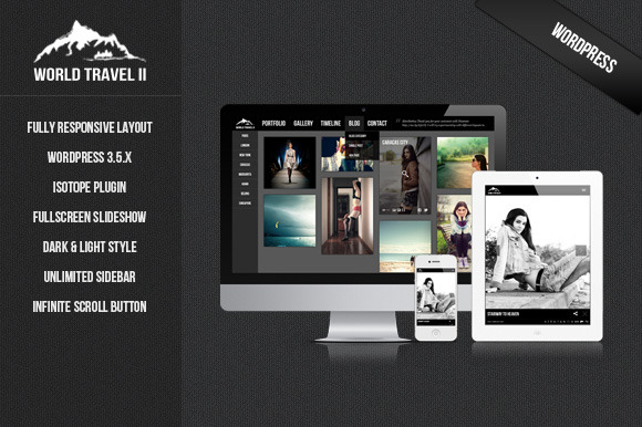 World Travel II – WordPress Theme ~ WordPress Themes  Free Download