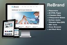 ReBrand - Responsive Business Html