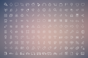 270 Outline Icons