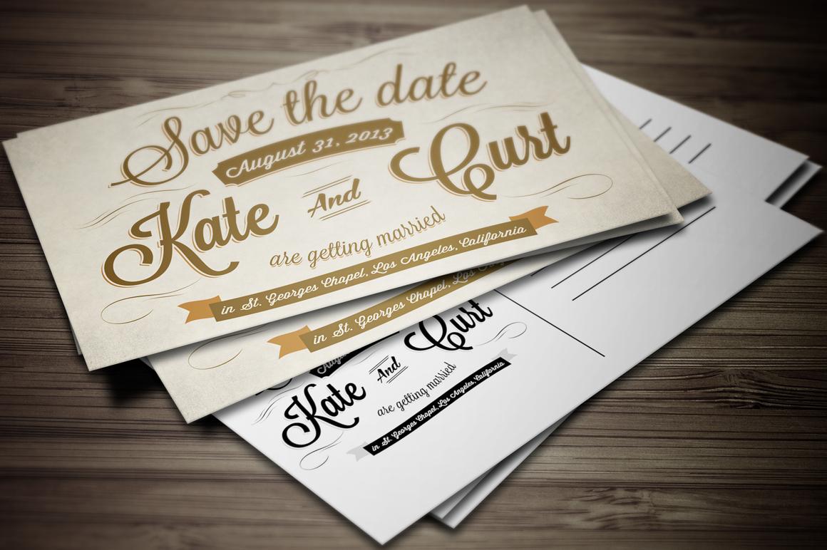 post card invitations