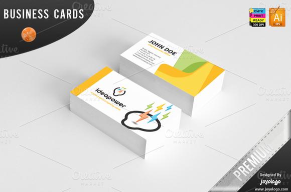 3D Powers Idea Corporate Identity Stationery Templates