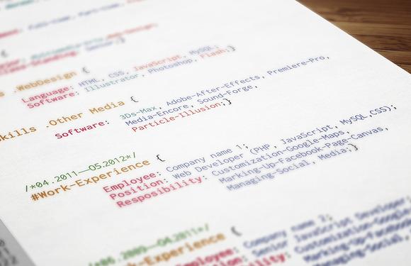 coder resume